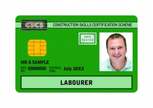 CSCS Labourer Card