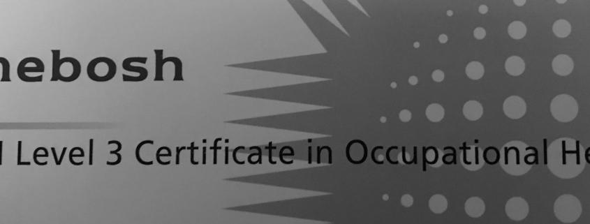 NEBOSH General Certificate