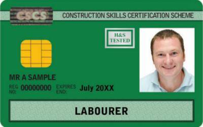 CSCS Green Card