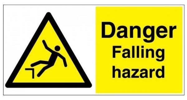 Falling Hazard